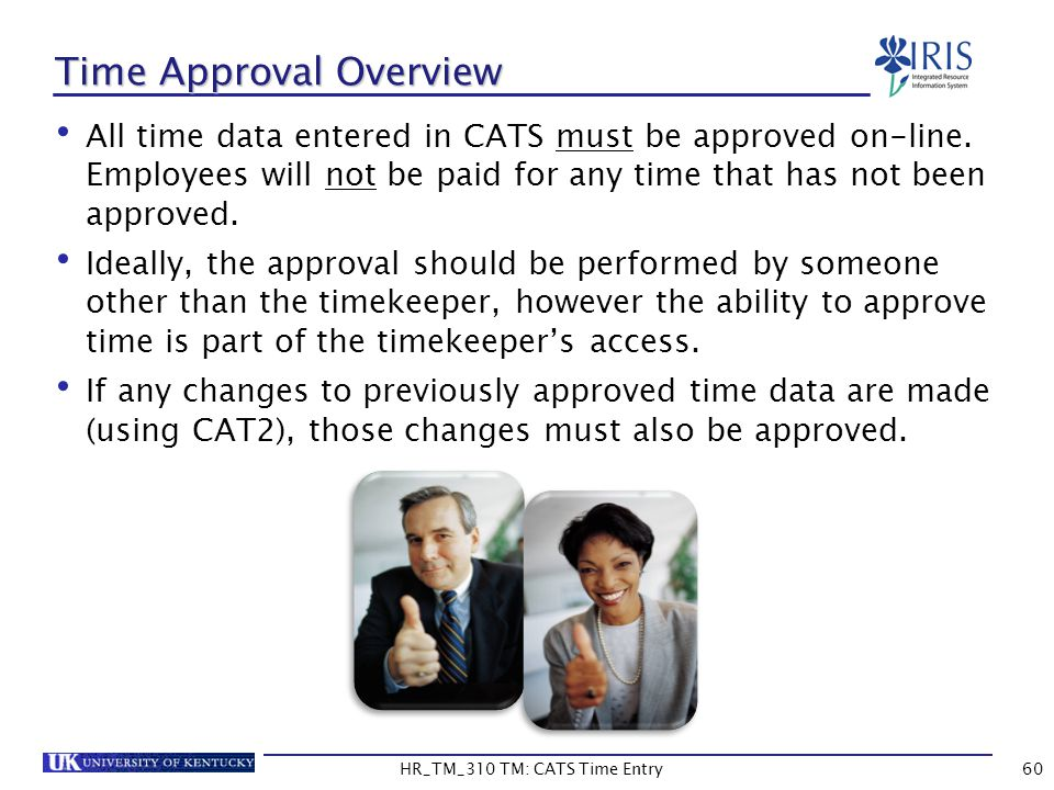 Time Approval Overview