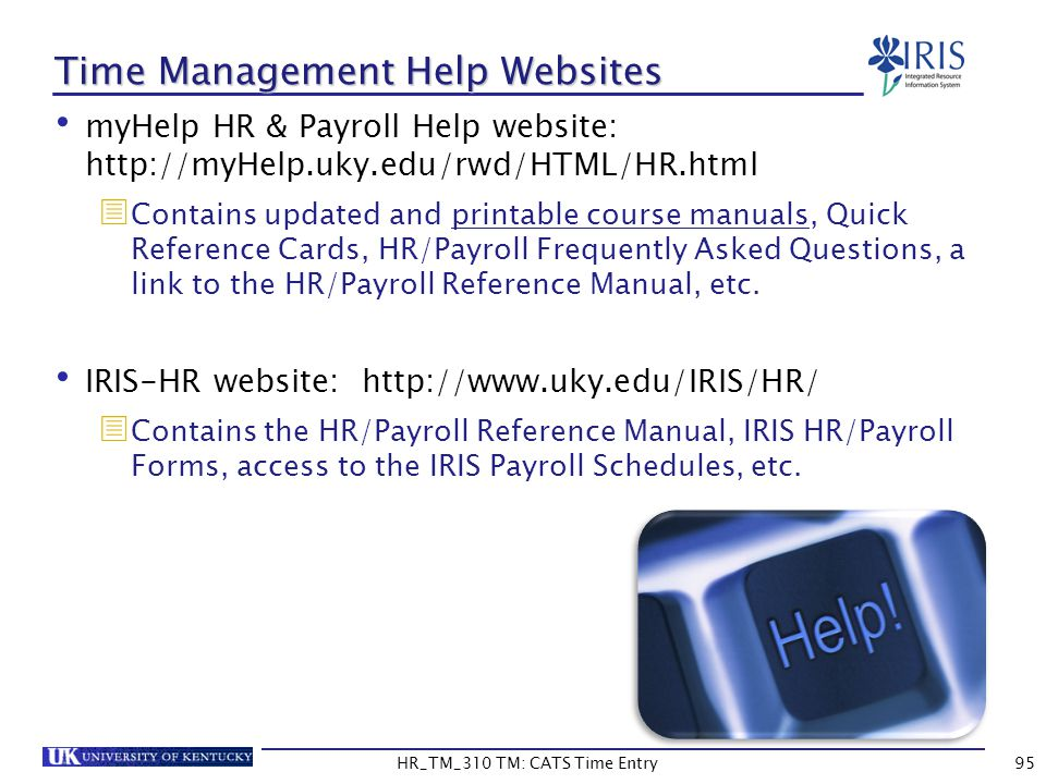 Time Management Help Websites