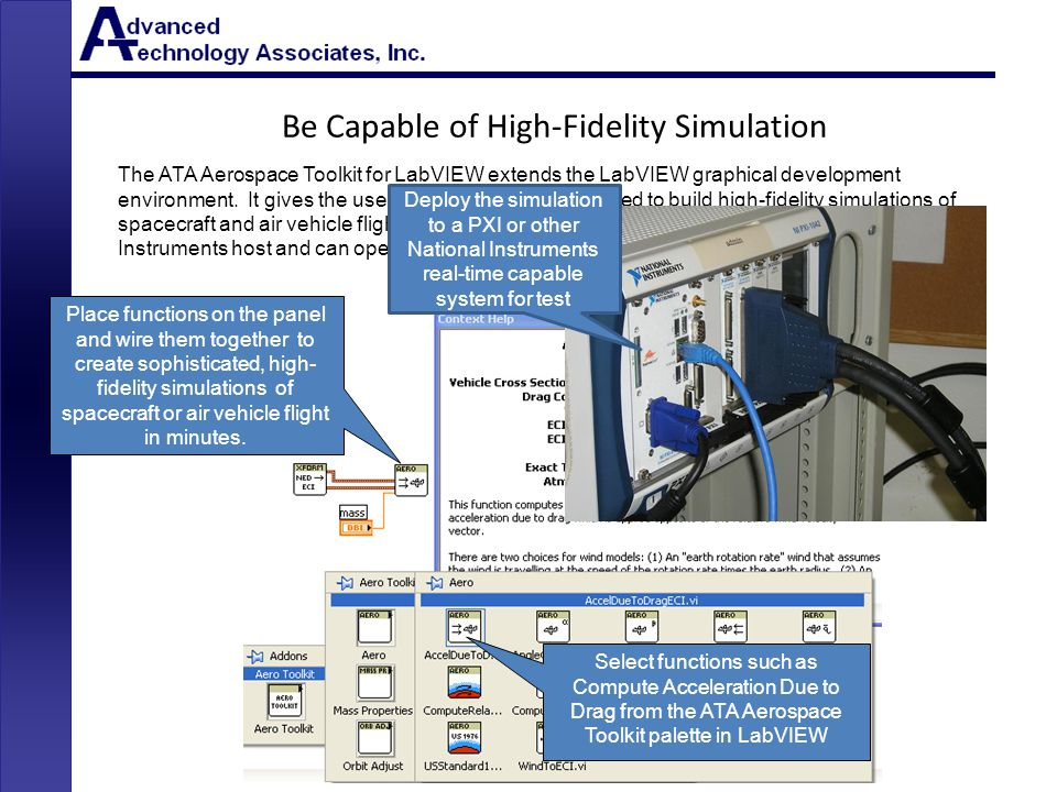 Be Capable of High-Fidelity Simulation