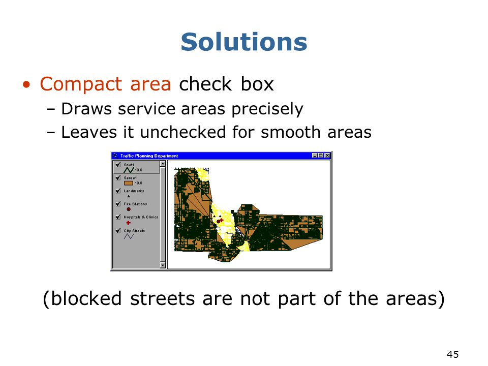 (blocked streets are not part of the areas)