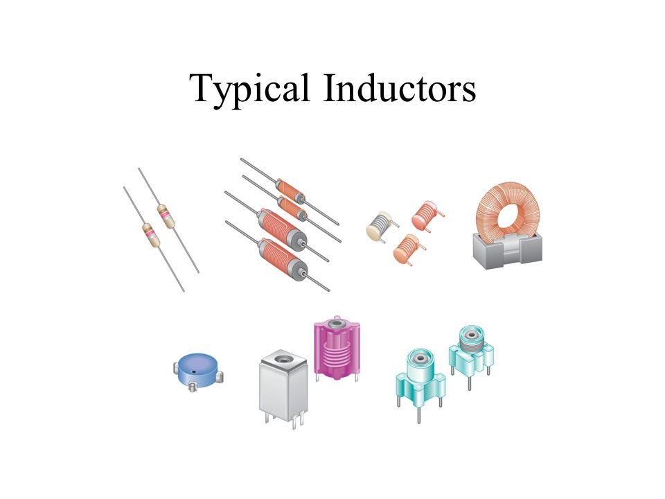 Typical Inductors