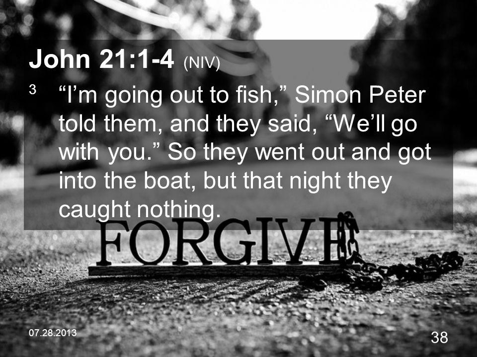 John 21:1-4 (NIV)