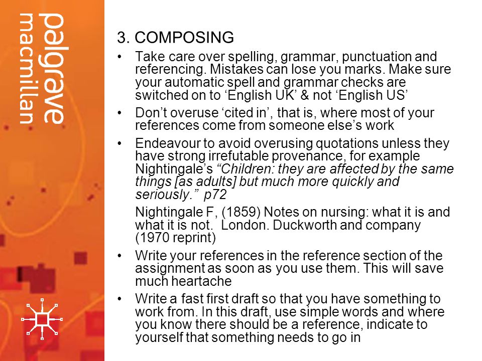 3. COMPOSING