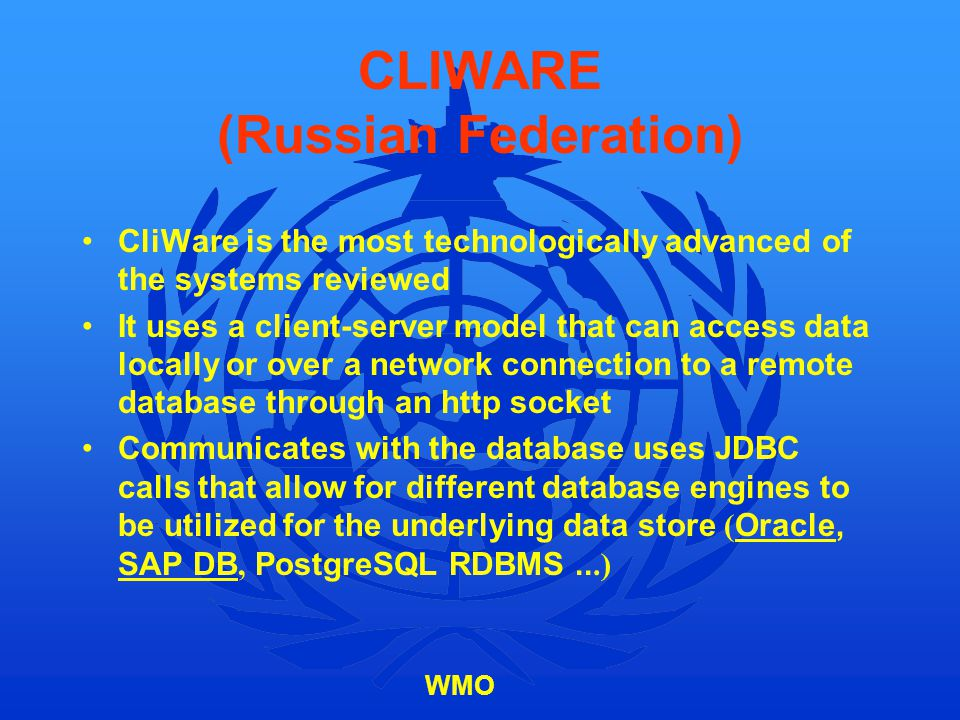CLIWARE (Russian Federation)