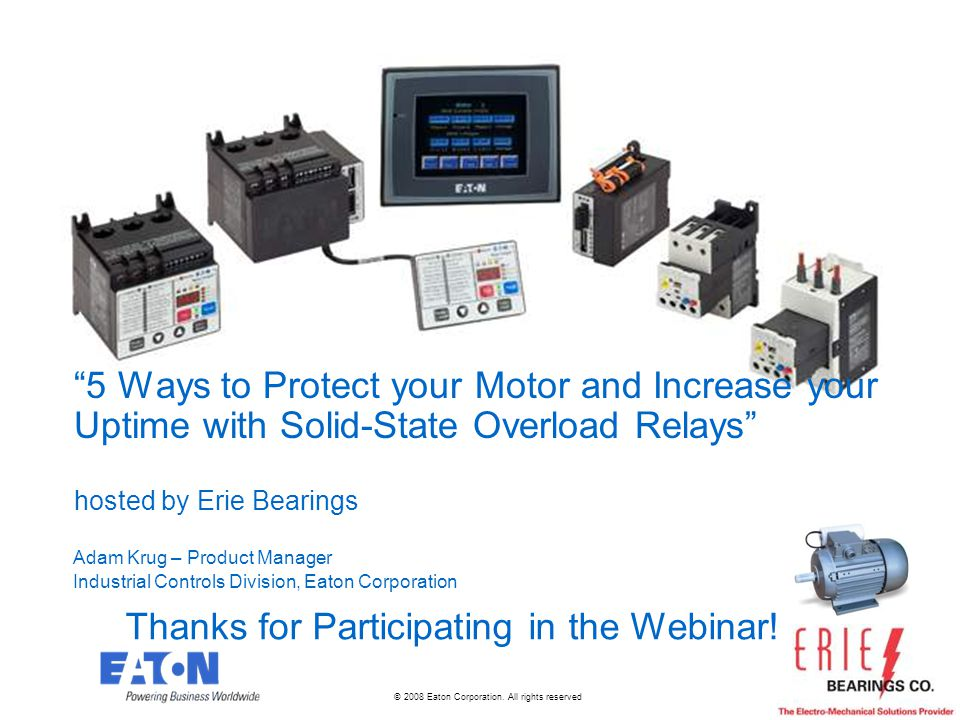 Thanks for Participating in the Webinar!