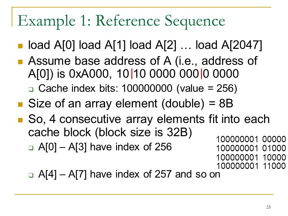 Example 1: Reference Sequence