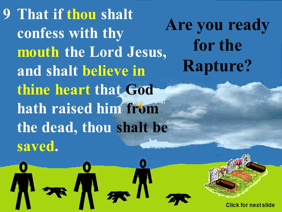 Are you ready for the Rapture