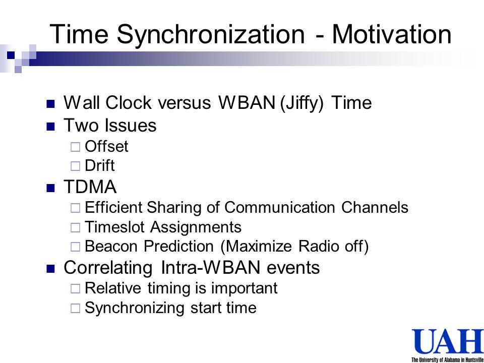 Time Synchronization - Motivation