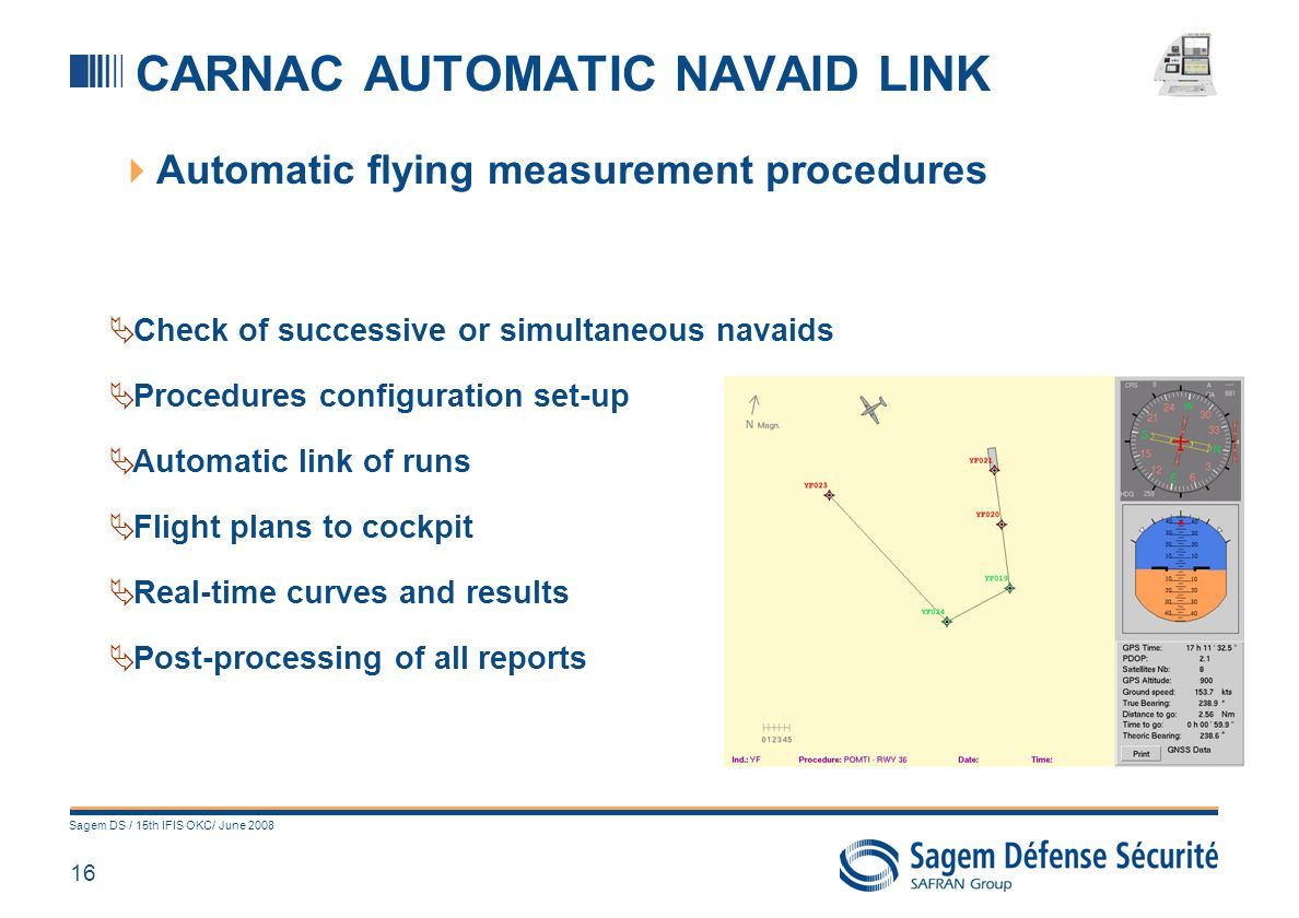 CARNAC IN-FLIGHT TRAINING