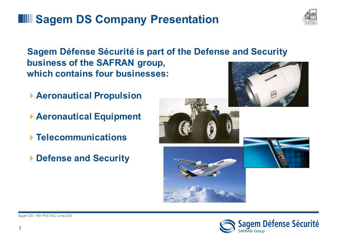 Sagem: an avionics supplier