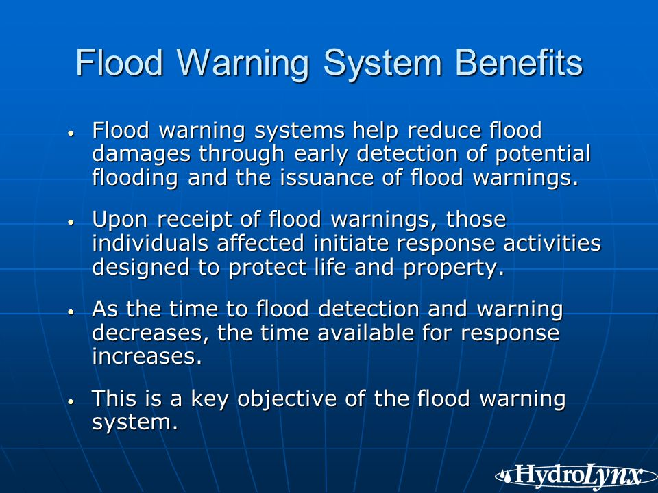 Real Time Data Collection In Flood Warning Systems Ppt