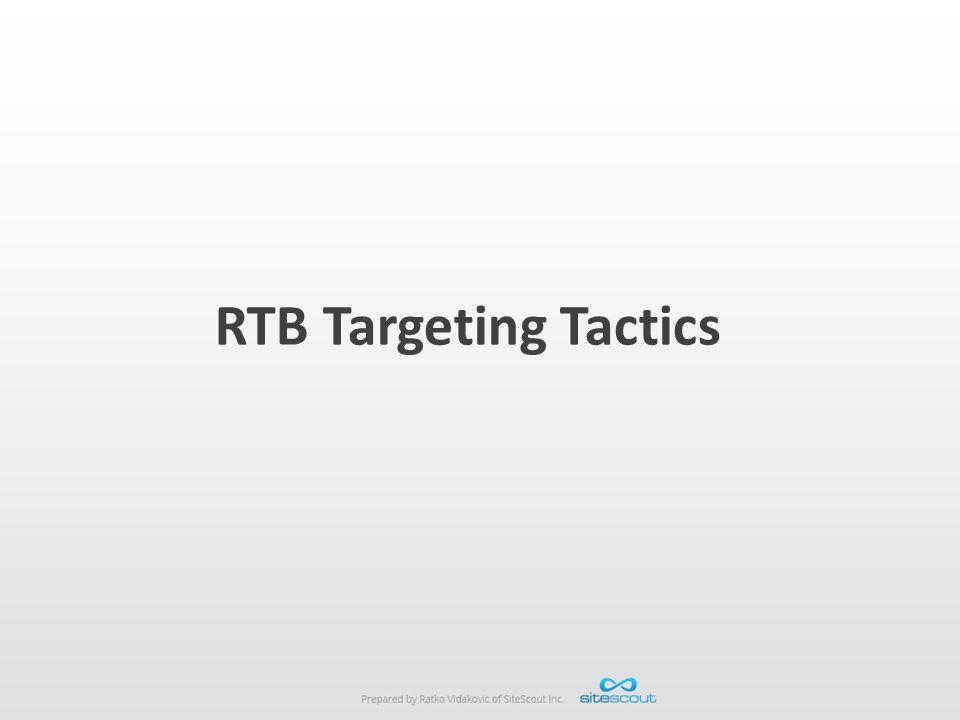 RTB Targeting Tactics