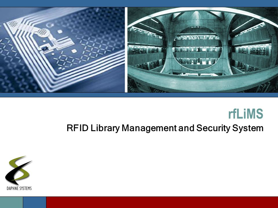 rfLiMS RFID Library Management and Security System
