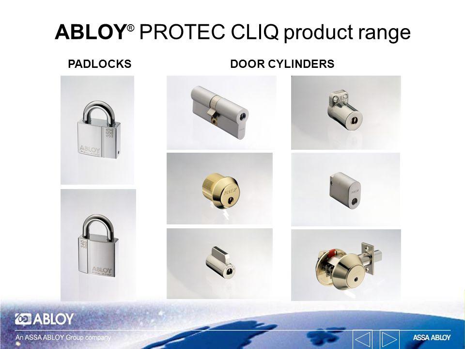 ABLOY® PROTEC CLIQ product range