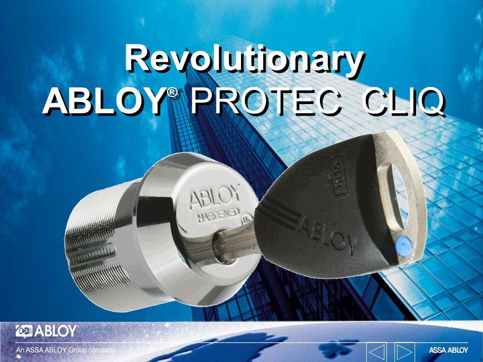 Revolutionary ABLOY® PROTEC CLIQ