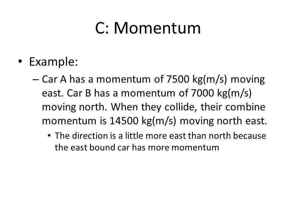 C: Momentum Example: