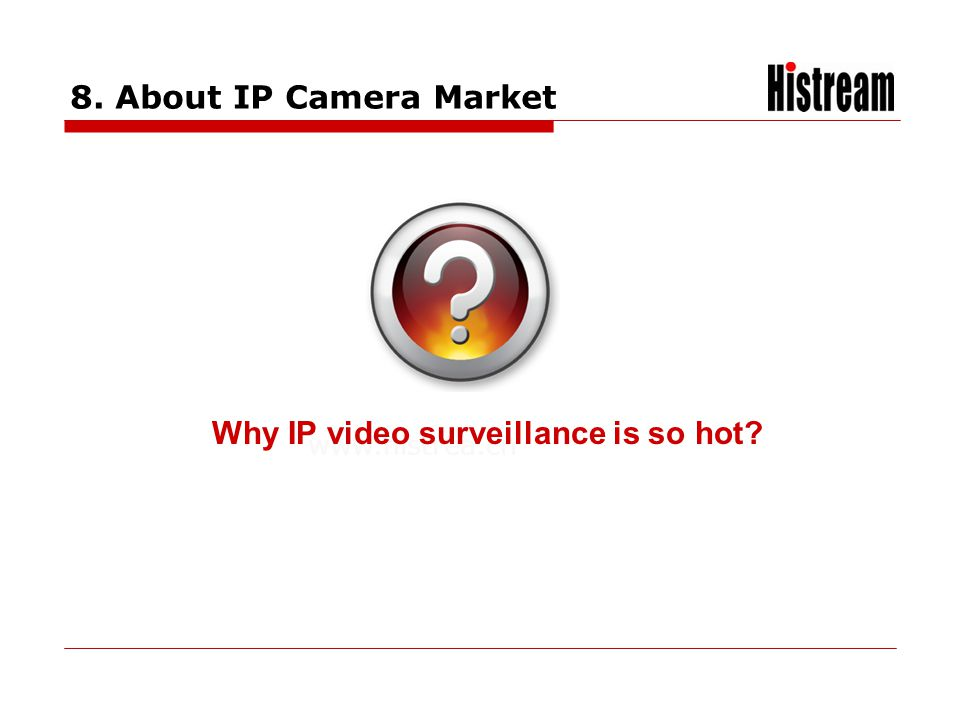 Why IP video surveillance is so hot