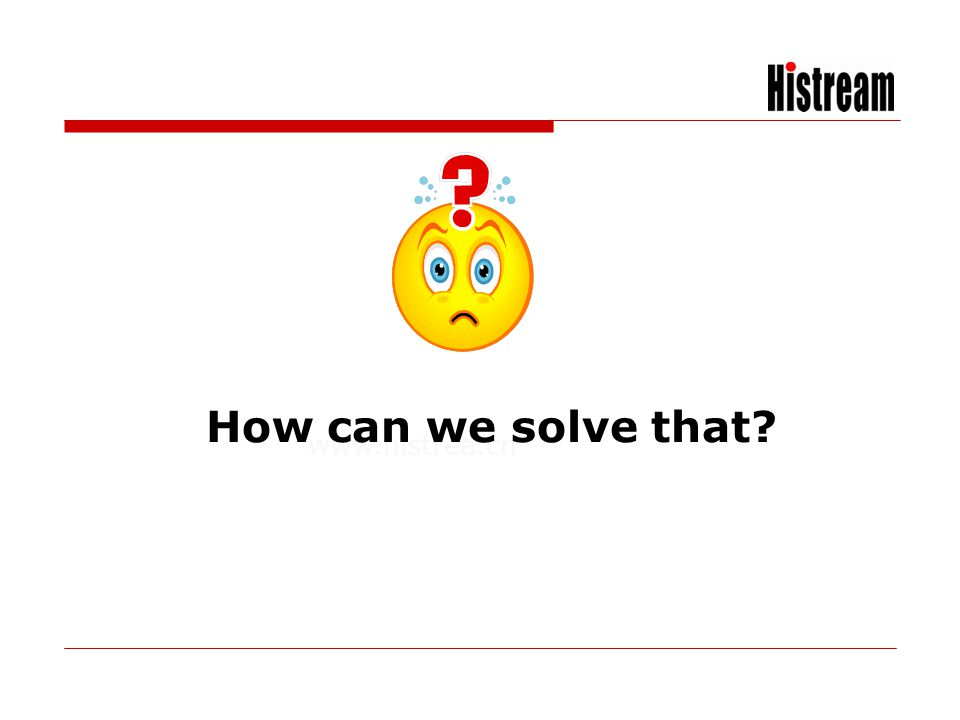 How can we solve that