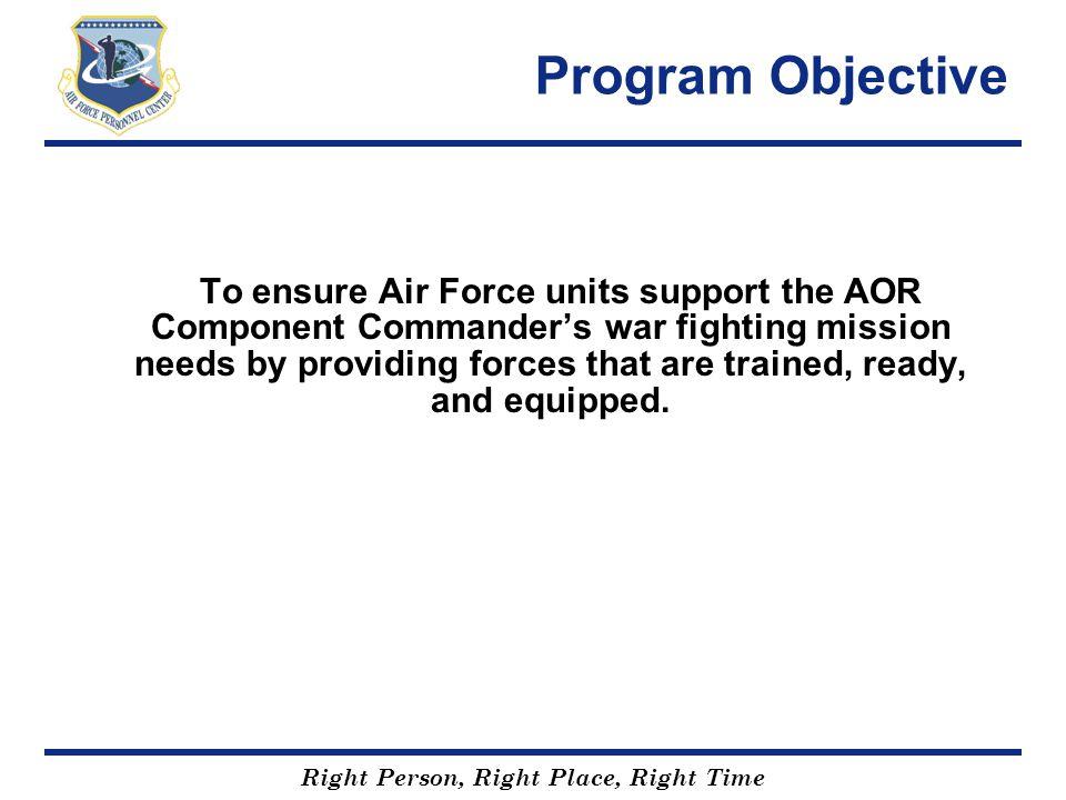 Program Objective