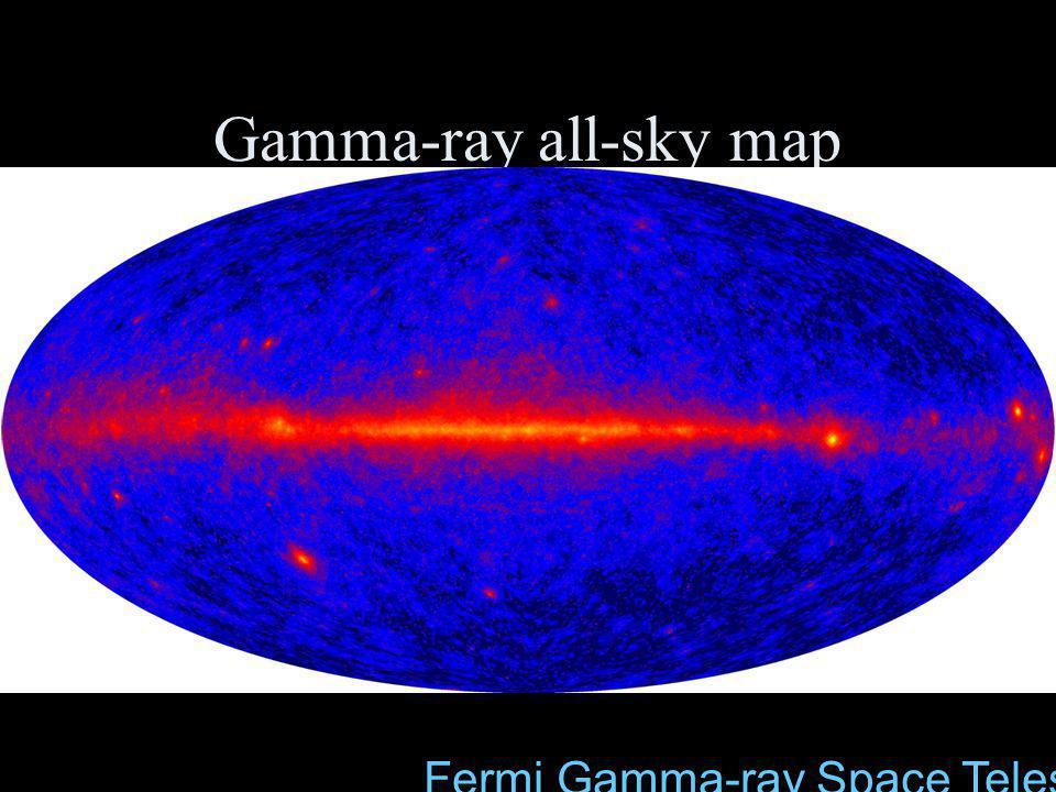 Gamma-ray all-sky map Fermi Gamma-ray Space Telescope