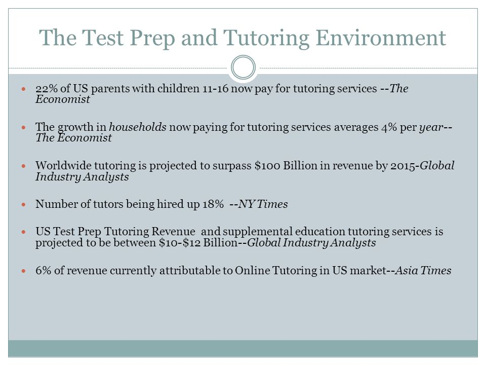 The Test Prep and Tutoring Environment