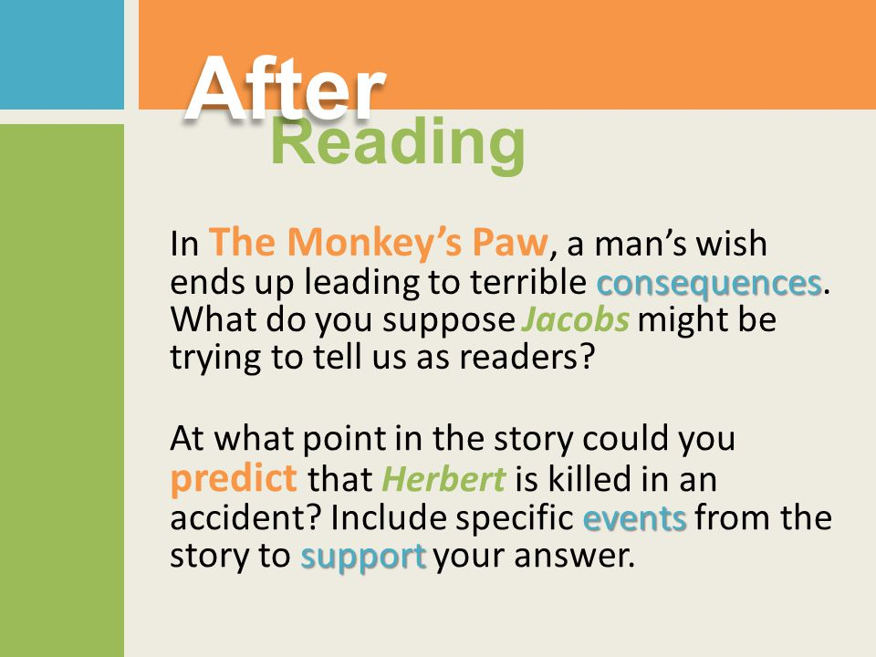 After Reading.