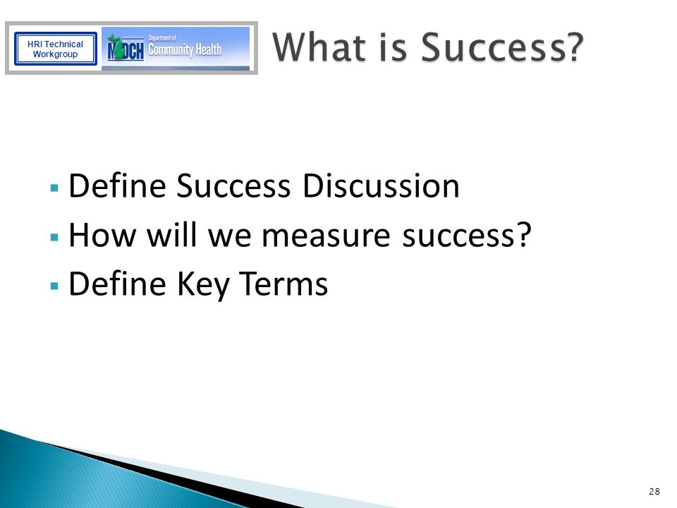 What is Success Define Success Discussion