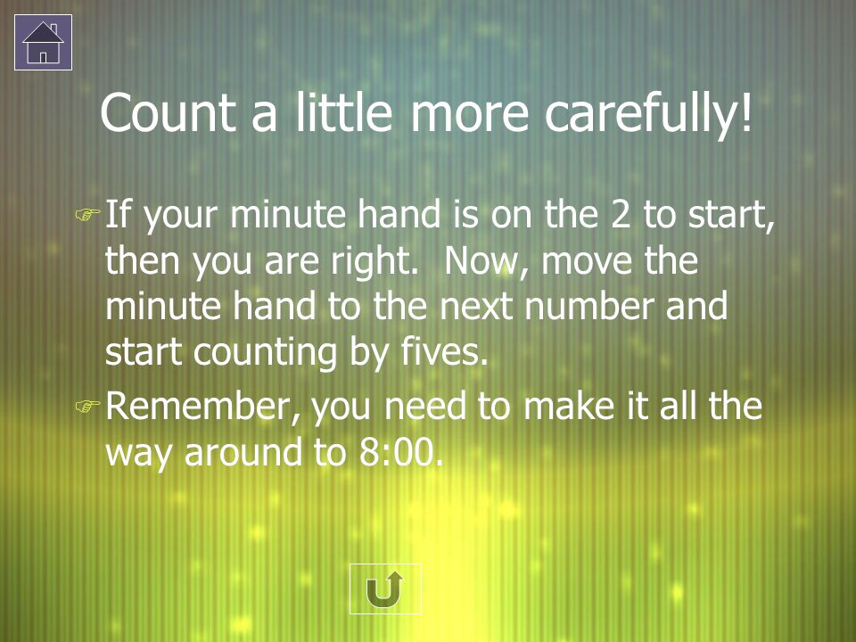 Count a little more carefully!