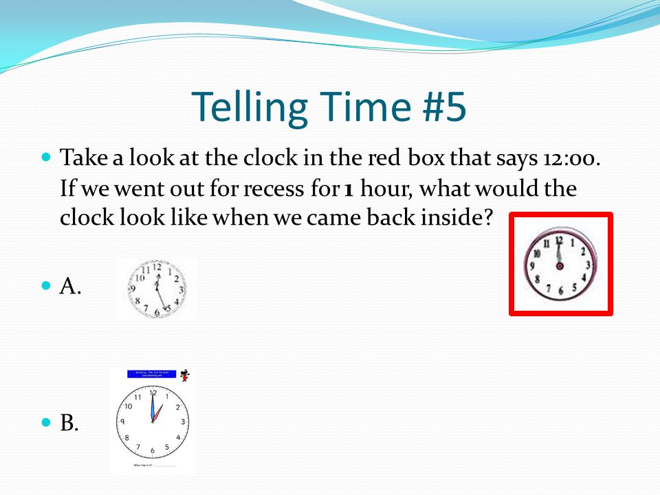 Telling Time #5