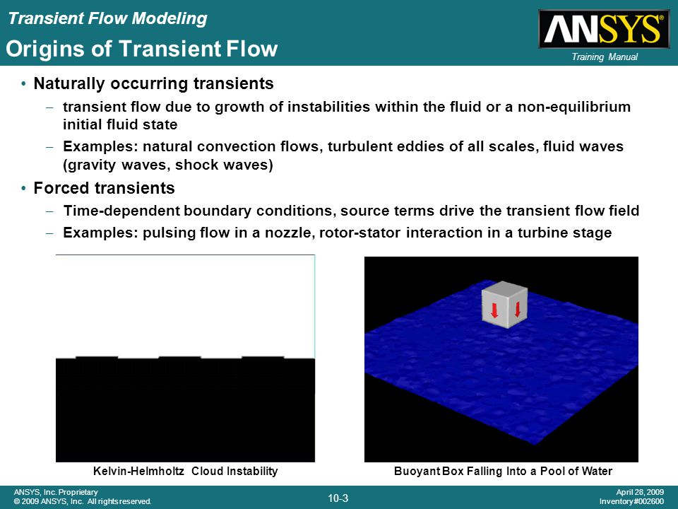 Origins of Transient Flow