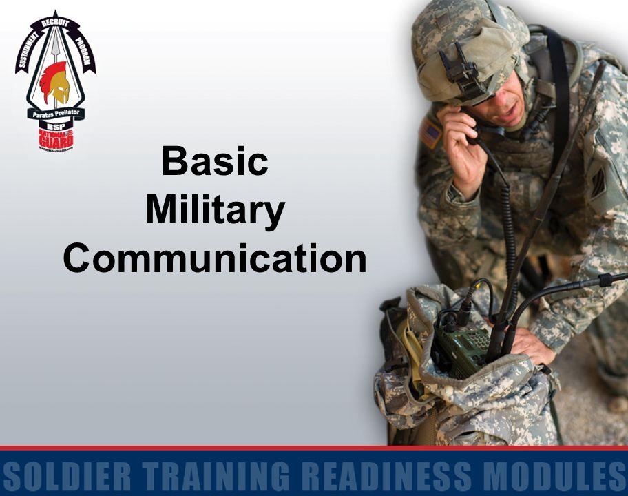 Basic Military Communication