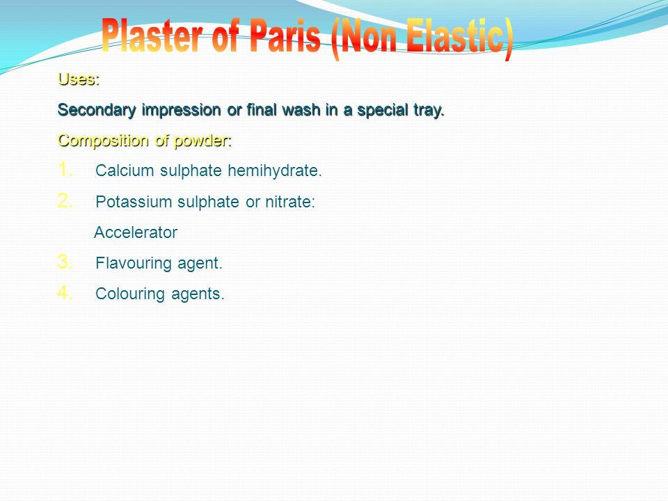 Plaster of Paris (Non Elastic)