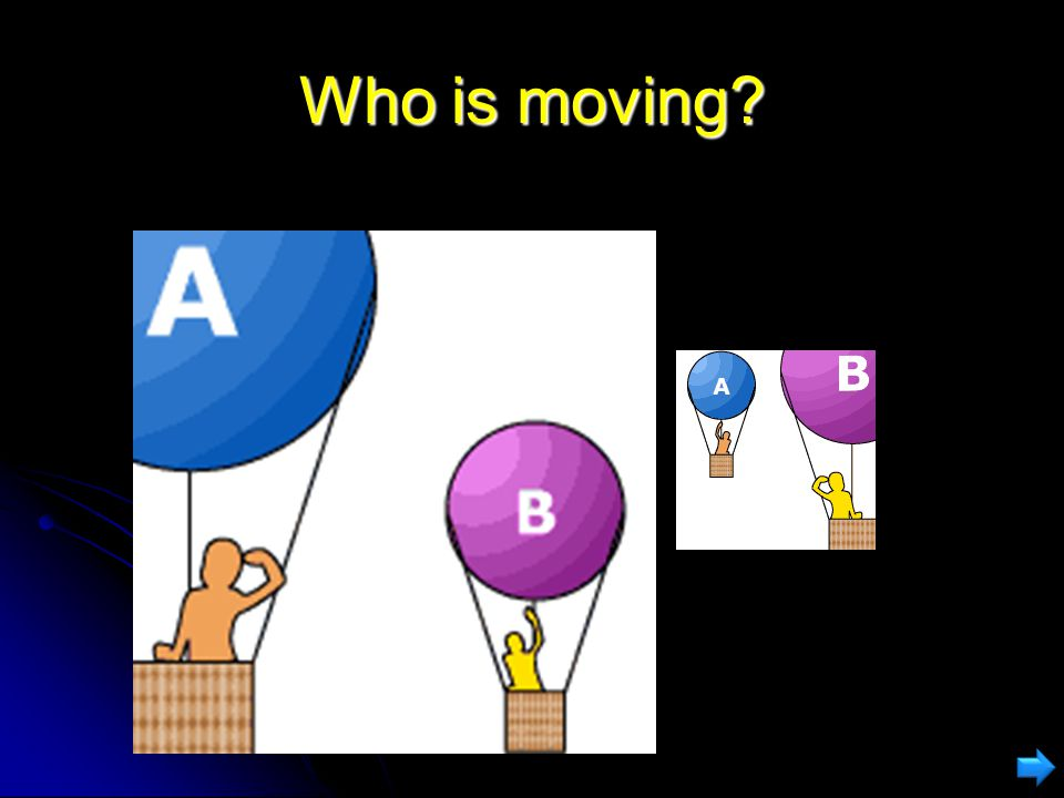Who is moving