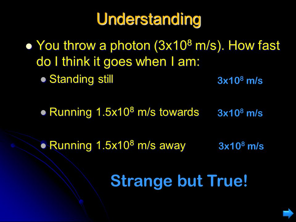 Understanding Strange but True!