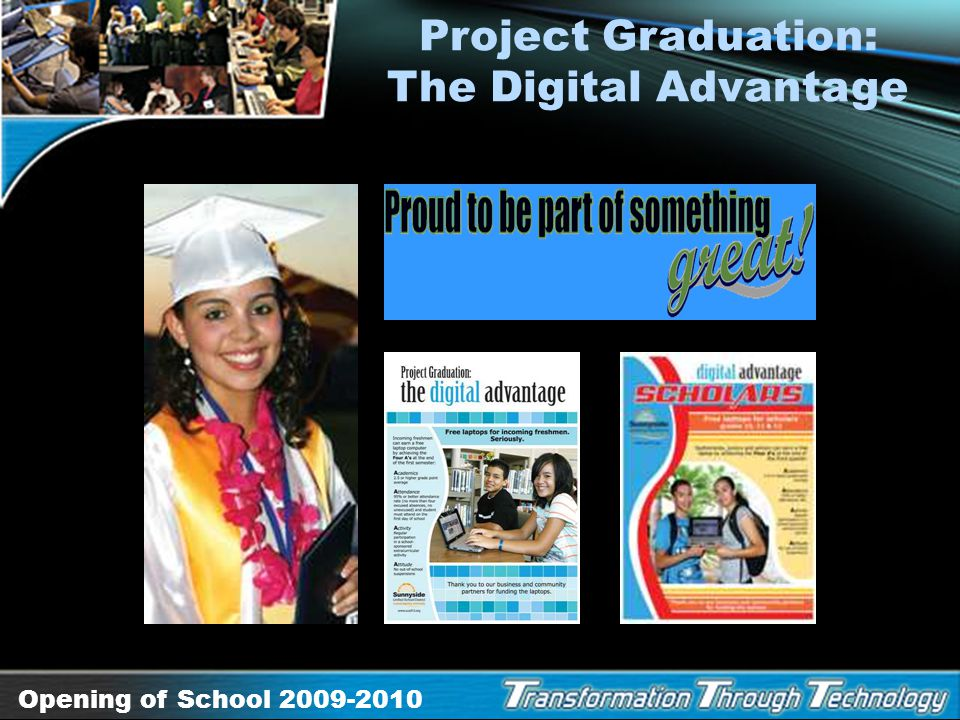 Project Graduation: The Digital Advantage