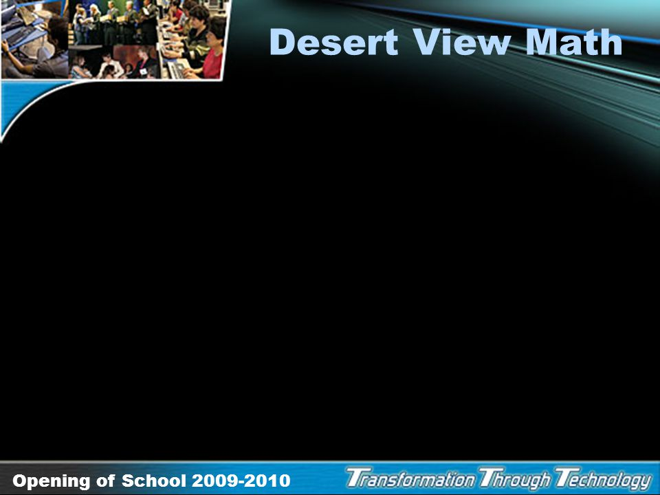 Desert View Math