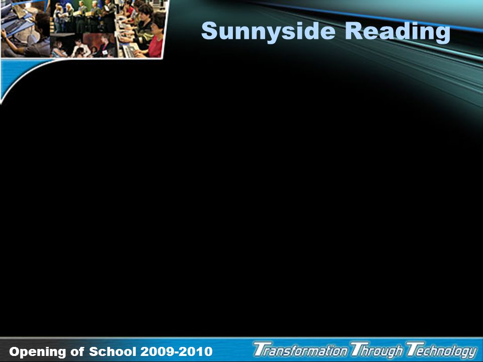Sunnyside Reading