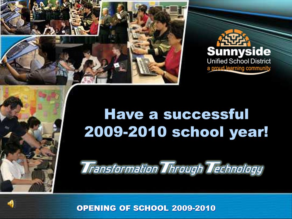 Have a successful 2009-2010 school year!