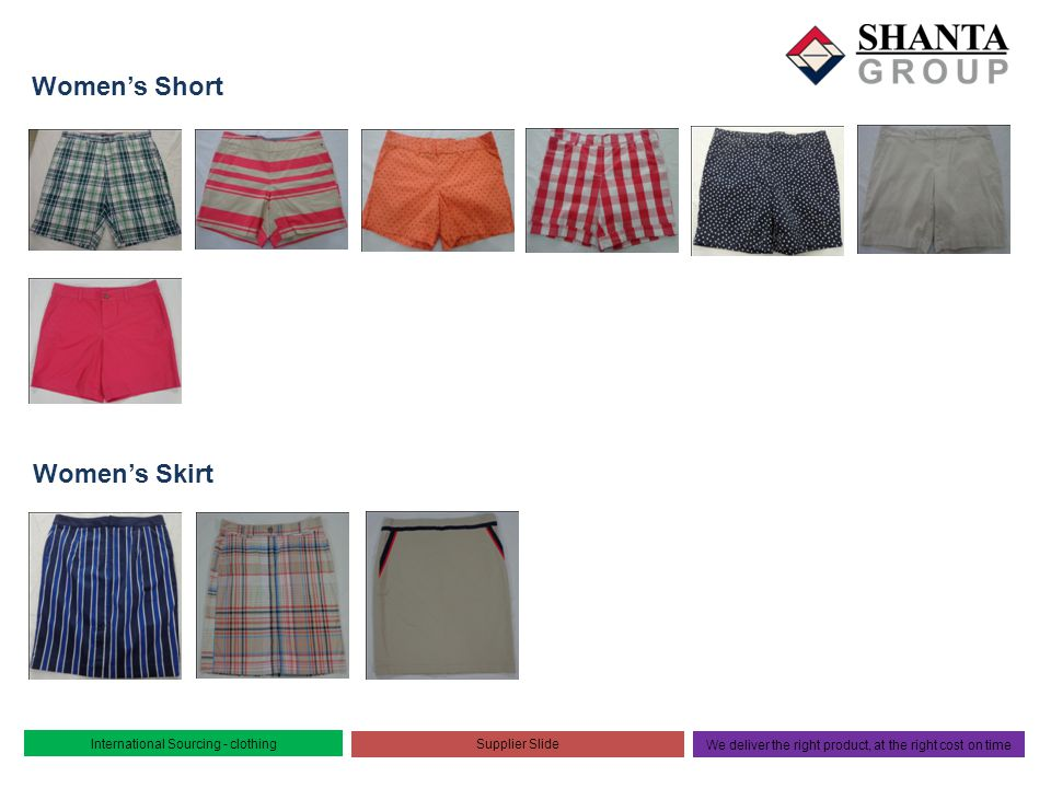 Women's Short Women's Skirt International Sourcing - clothing
