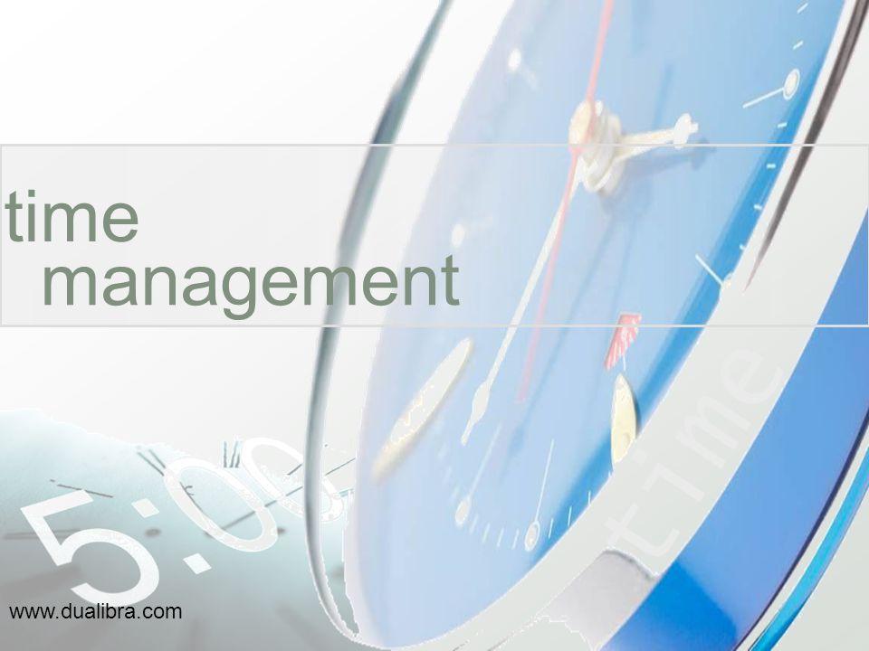 time management time www.dualibra.com