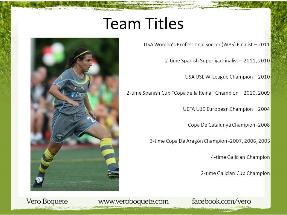 Team Titles