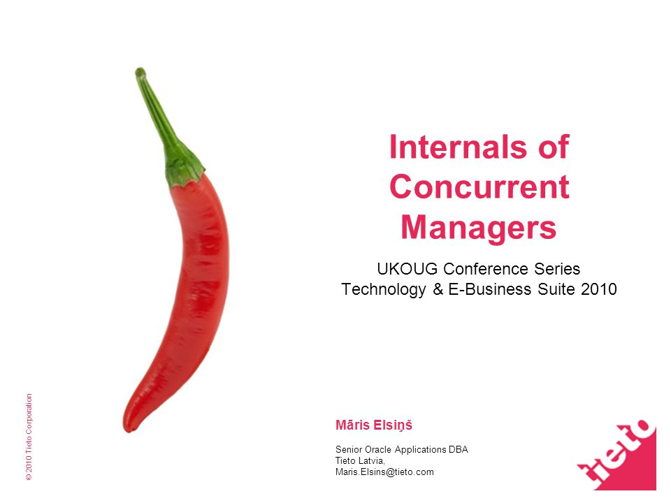 Internals of Concurrent Managers