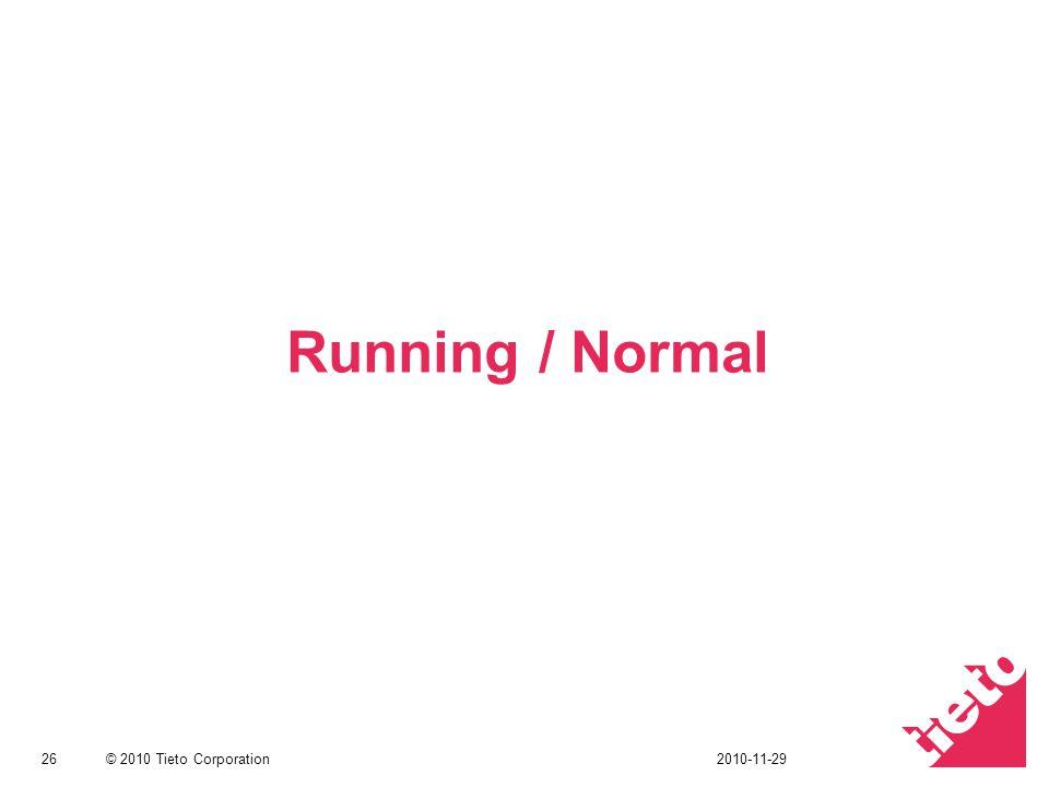 Running / Normal 2010-11-29
