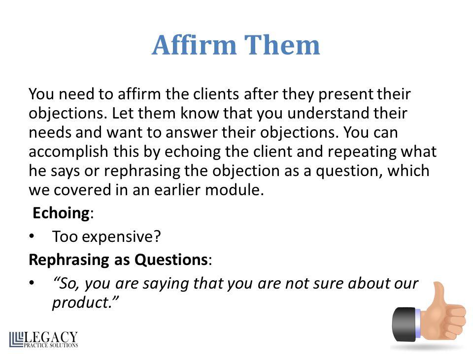 Affirm Them