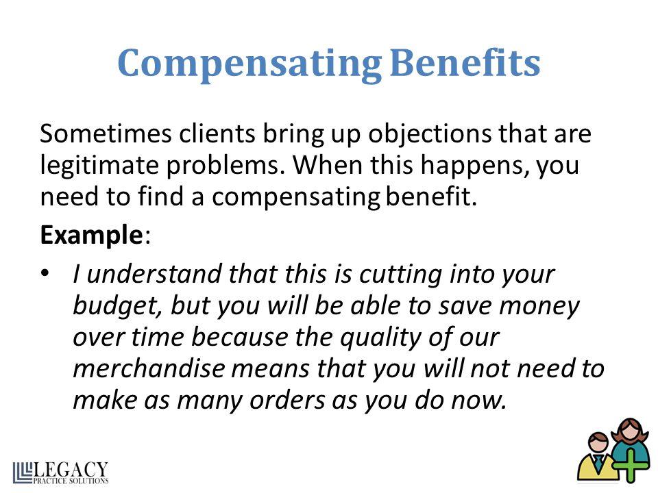 Compensating Benefits
