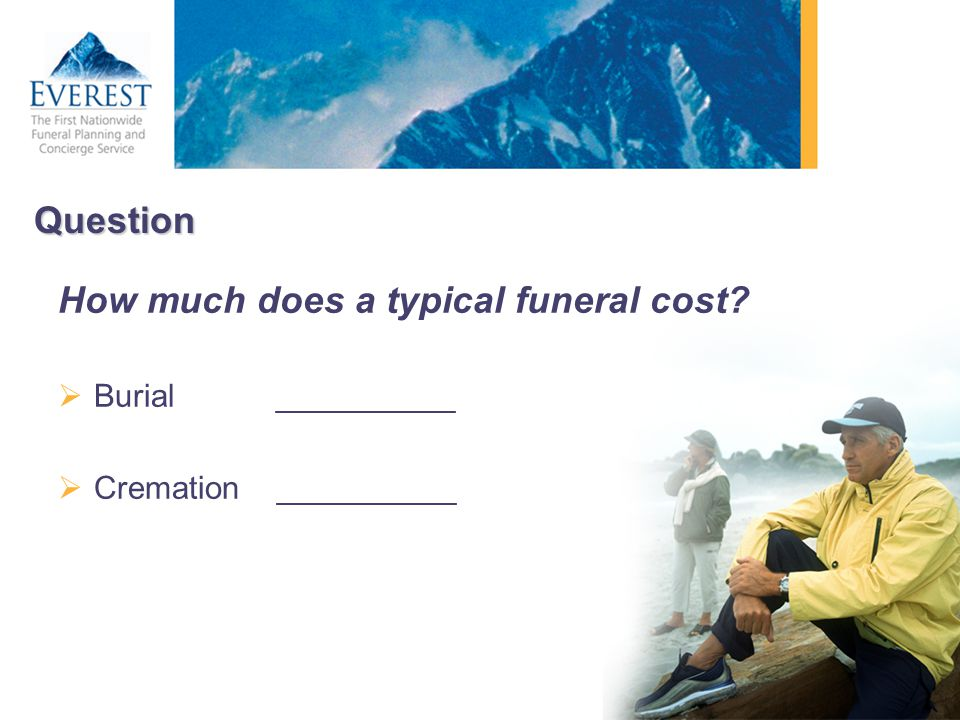 How much does a typical funeral cost