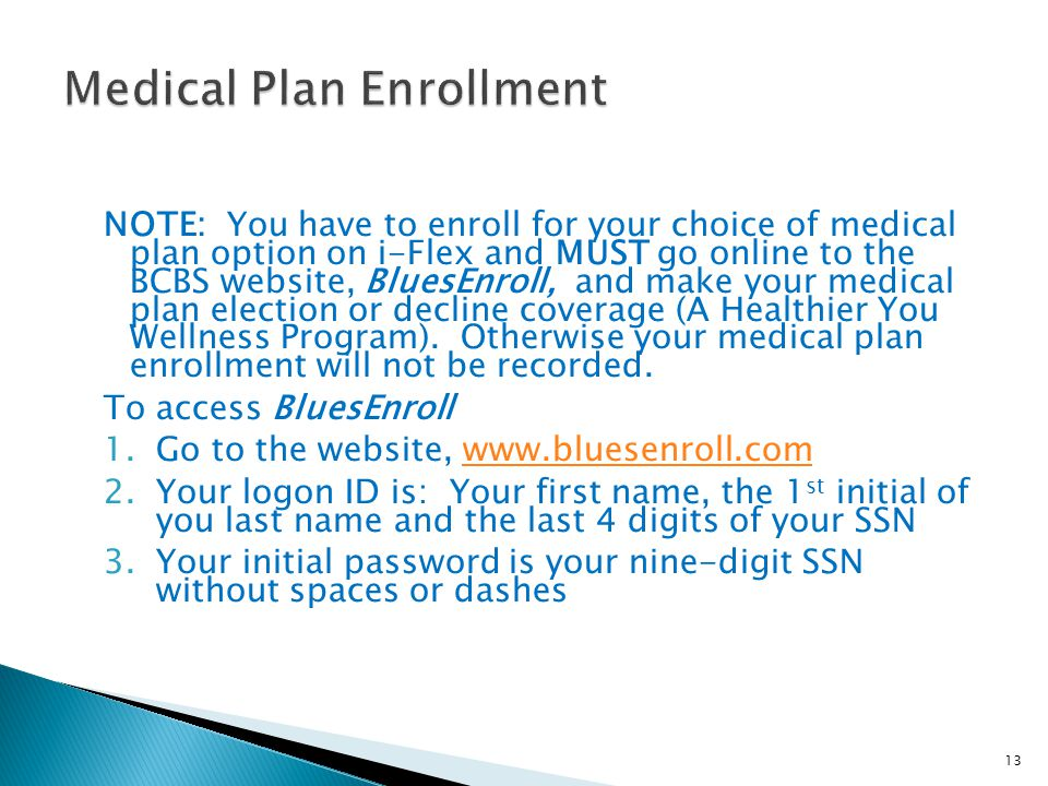 Medical Plan Enrollment