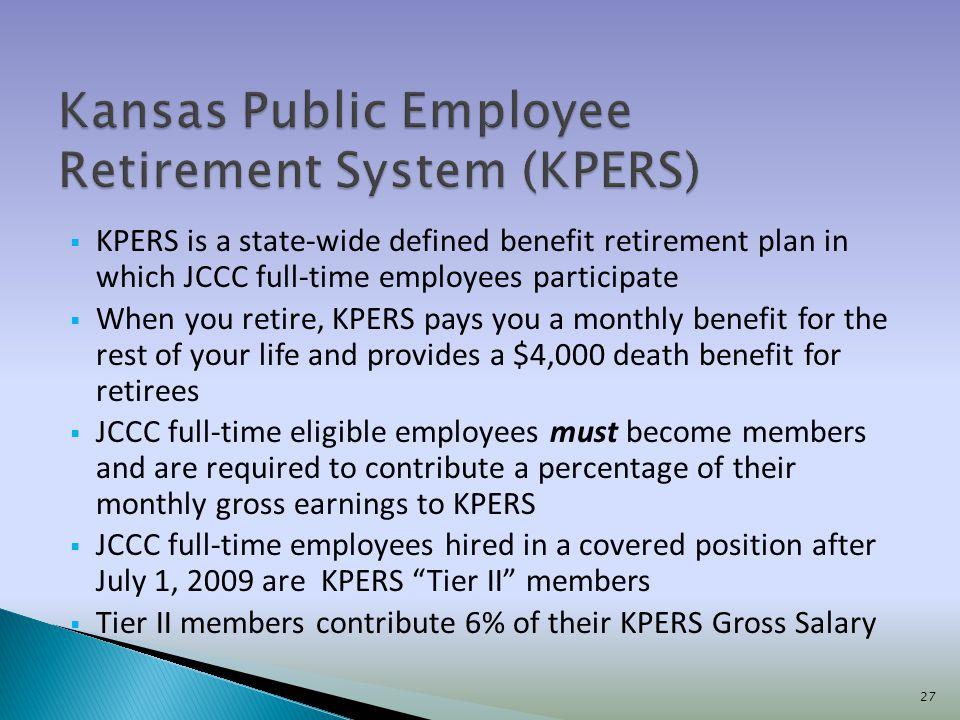 Kansas Public Employee Retirement System (KPERS)