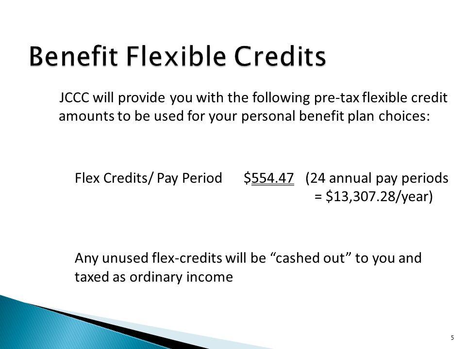 Benefit Flexible Credits