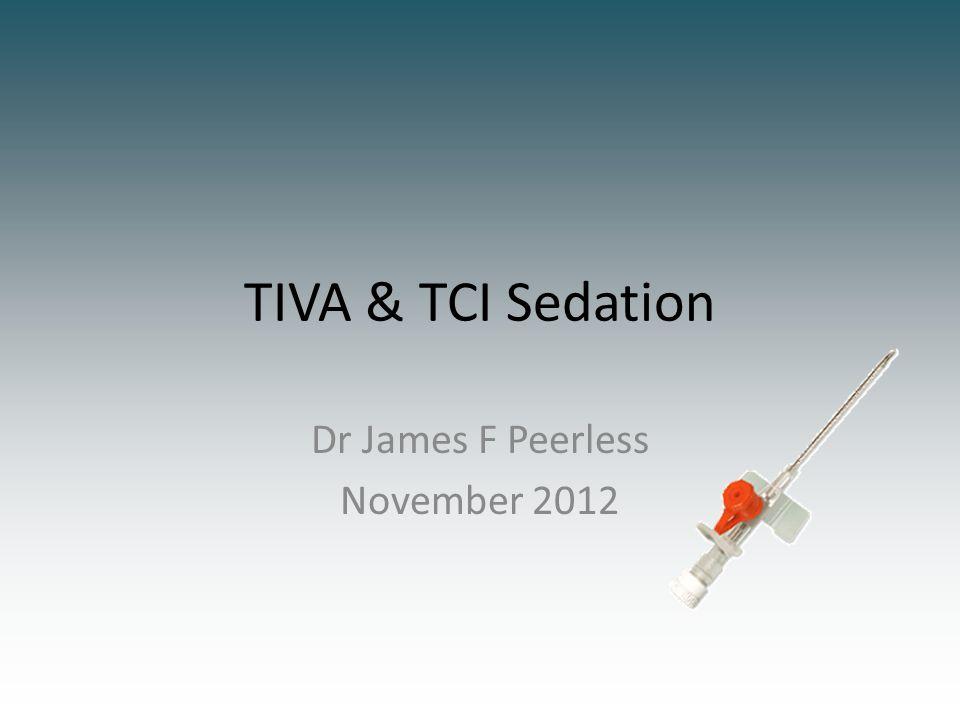 Dr James F Peerless November 2012